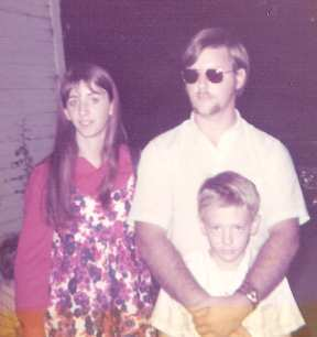 Kathy, Hal and me, mid-1970s